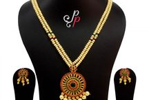 2 Line Pearl Necklace in Beautiful Golden Colour Pearls at Rs. 4,400