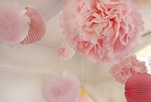 Birthday Parties for Little Ones / Birthday party decorating and activities