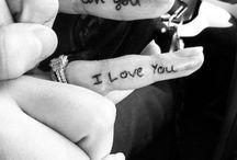 Tattoo ideas for Jordan & I ❤ / by Alisha Buckman
