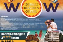 Goa Diwali Dhamaka - 2015 /  WOW Goa Diwali Dhamaka - 3 Nights/4 Days Package.