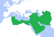 Abbasid Caliphate (750–1517) / was the third of the Islamic caliphates to succeed the Islamic prophet Muhammad. The Abbasid dynasty descended from Muhammad's youngest uncle, Abbas ibn Abd al-Muttalib (566–653 CE), from whom the dynasty takes its name.[1] They ruled as caliphs, for most of their period from their capital in Baghdad in modern-day Iraq, after assuming authority over the Muslim empire from the Umayyads in 750 CE (132 AH).