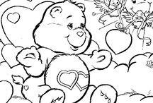 Crafty (80's Care Bears) Coloring