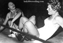 girl retro wrestling