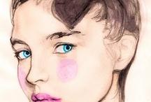 Painting Inspiration / Ispirazioni...Disegni a Matita