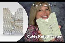 Cable Knit Folder