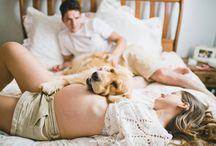 Gestante + pet lifestyle