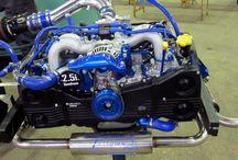 Kombi motor Subaro