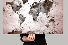 Grey world canvas