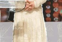 Love for whites! / Ethnic white dresses..