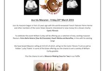 Macaron Day - March 20th 2015 / Macaron Day - raising funds for the Cystic Fibrosis Trust