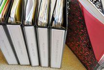 Binders: Organizing  / by Kindy Monroe