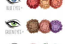 Makeup, skin care