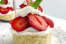Almond Strawberry Shortcake LC