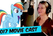 My Little Pony The Movie [2017] Voice Actors And Characters || Porfirios guarding this channel