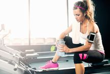 Exercise and healthy recipes / Getting fit and in shape isn't always easy, but with these tips it can be!