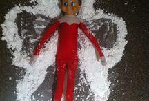 Elf-on-the-Shelf Ideas / Ideas for this Christmas! / by Cynthia Smith