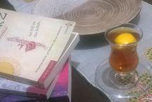 bir çay bir kitap biraz mutluluk / Çay ve kitap