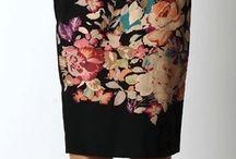 Faldas lapiz