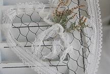 wire and chicken wire