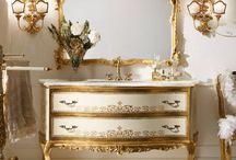 ITALIAN LUXURY HANDMADE BATHROOM FURNITURE