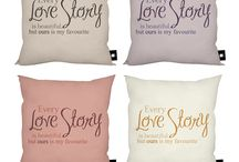 valentines cushions