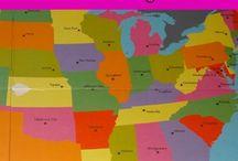 homeschool geography / by Kristen Pelle