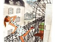 dessin paris