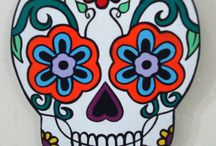 Calaveras / Skull / Diseños, tatuajes, pinturas,... todo sobre calaveras
