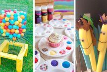 Ideias para atividades e oficinas em festas infantis