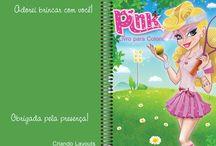 Livrinhos de colorir