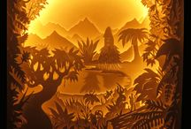 Luca Villani's paper cuts / This board compiles paper cuts creations by Luca Villani