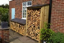 LOG STORAGE OUTSIDE