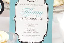 Tiffany Inspired Birthday Party