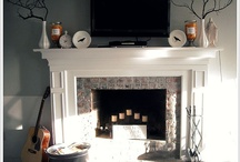 fireplace ideas / by Rebecca Rushforth