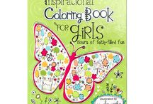 Coloring Books / Join the newest craze--coloring books for adults!  Great for relaxing and anxiety relief.  Coloring can also help you memorize scripture and gives you focus while you pray.