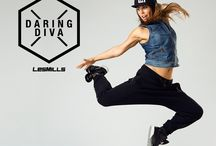 Daring Diva / Stylish sports gear inspired by Daring Diva Rachel Newsham from Les Mills. Make your own and publish it on lesmills.com to win some awesome Reebok gear!