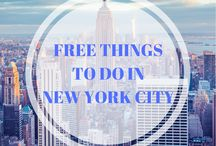 New York Travel Tips / Planning a trip to New York? Find top tops on things to do in New York City, where to stay, how to get there and so much more!