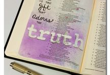 Illustrated Faith / Bible Journaling Inspiration / by Gina Burpee