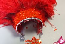 Showgirl headdresses