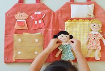education sewing projects / Quiet book ideas