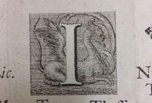 Letter I / representations of the letter I