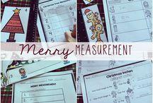 Measurement Math / Elementary Math - measuring, area, perimeter