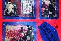 """""""BACK ROLL"""" - Kitewallet / Mini portafoglio con porta-tessere verticali di cui una trasparente. Sottilissimo e leggerissimo."""