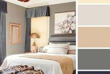 Neutral color palette / Color palettes for future paintings
