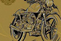 Moto cartoon