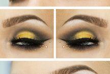 Μακιγιαζ με κιτρινο