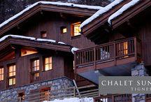 Chalet Sundance - Tignes / Situé dans le village pittoresque Les Brévières - Tignes, une partie du célèbre domaine skiable de l'Espace Killy, Chalet Sundance est un chalet d'alpage exceptionnelle.   Situated in the picturesque village of Les Brévières - Tignes, part of the famous ski area Espace Killy, Chalet Sundance is an exceptional alpine chalet.