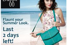 Flaunt your Summer Look. Last 2 Days Left! / Instagram Contest coming to end, last 2 days remaining to send in your pictures & show off your styling skills. Fashionistas, we know you'll have it in you to Create Amazing Summer Looks with our Baggit Bags. Give it a try, you could be the lucky winner. Hurry!!! T&C apply