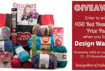 red yarn giveaway