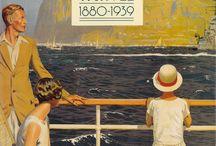 Travel vintage Marine posters